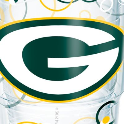 Tableware: Drinkware: Green Bay   Packers Tervis 24-oz. NFL Bubble Up Tumbler