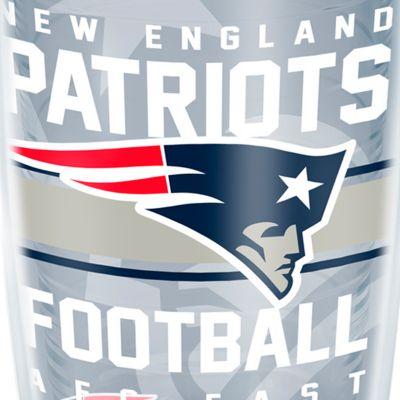Coffee Tumbler: New England Patriots Tervis 16-oz. NFL Gridiron Tumbler