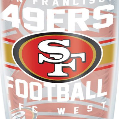 Coffee Tumbler: San   Francisco 49Ers Tervis 16-oz. NFL Gridiron Tumbler