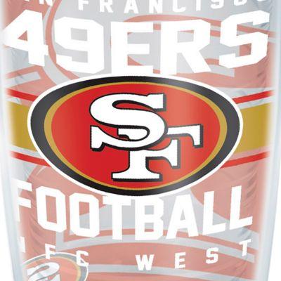 Tumbler: San   Francisco 49Ers Tervis 16-oz. NFL Gridiron Tumbler