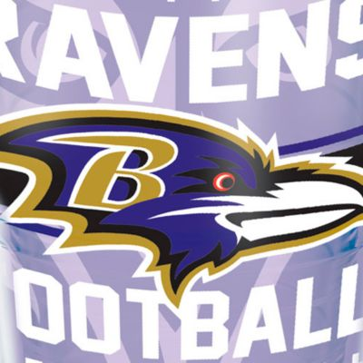 Coffee Tumbler: Baltimore  Ravens Tervis 24-oz. NFL Gridiron Tumbler