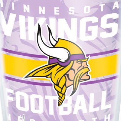Coffee Tumbler: Minnesota  Vikings Tervis 16-oz. NFL Gridiron Tumbler