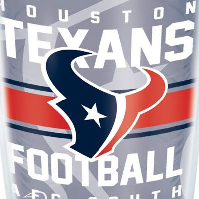 Coffee Tumbler: Houston    Texans Tervis 16-oz. NFL Gridiron Tumbler