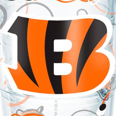 Tableware: Drinkware: Cincinnati  Bengals Tervis 24-oz. NFL Bubble Up Tumbler