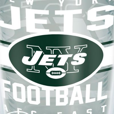 Tervis Mugs: New York   Jets Tervis 16-oz. NFL Gridiron Tumbler