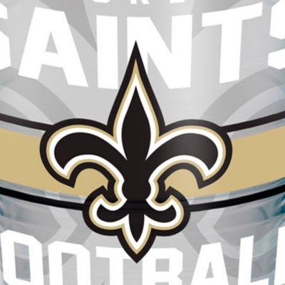 Coffee Tumbler: New Orleans Saints Tervis 24-oz. NFL Gridiron Tumbler