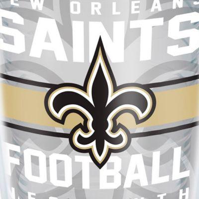 Coffee Tumbler: New Orleans Saints Tervis 16-oz. NFL Gridiron Tumbler