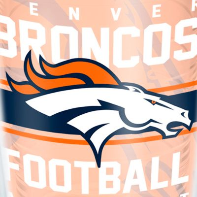 Coffee Tumbler: Denver     Broncos Tervis 16-oz. NFL Gridiron Tumbler