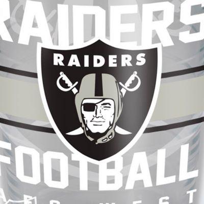 Coffee Tumbler: Oakland    Raiders Tervis 16-oz. NFL Gridiron Tumbler