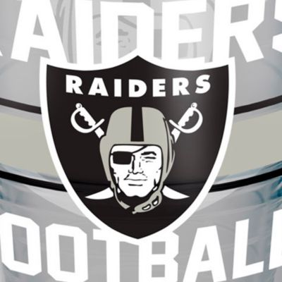 Coffee Tumbler: Oakland    Raiders Tervis 24-oz. NFL Gridiron Tumbler