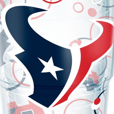 Tableware: Drinkware: Houston    Texans Tervis 24-oz. NFL Bubble Up Tumbler