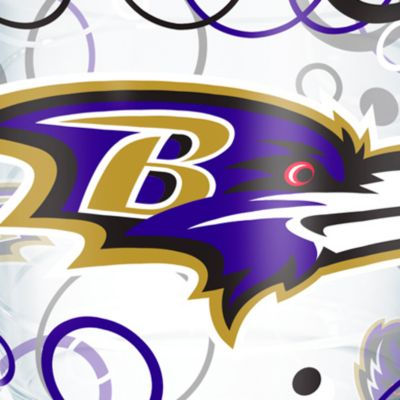 Tableware: Drinkware: Baltimore  Ravens Tervis 24-oz. NFL Bubble Up Tumbler