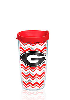 Tervis GEORGIA UNIV CHEVRON WRAP 16OZ W/ RED LID