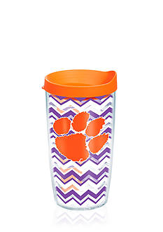 Tervis CLEMSON UNIV CHEVRON WRAP 16OZ W/ ORANGE LID