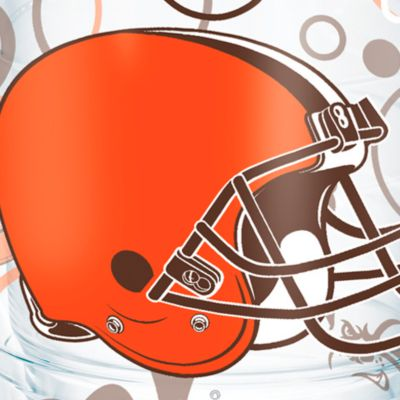 Tableware: Drinkware: Cleveland  Browns Tervis 24-oz. NFL Bubble Up Tumbler