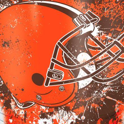 Coffee Tumbler: Cleveland   Browns Tervis 24-oz. NFL Splatter Tumbler