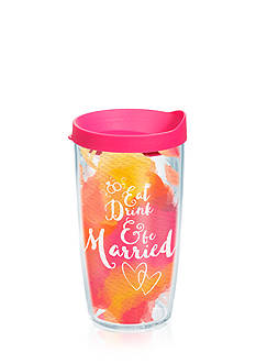 Tervis Eat Drink and Be Married Tumbler