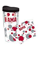 Tervis Tumbler Alabama Crimson Tide 24 oz Dot Wrap Tumbler