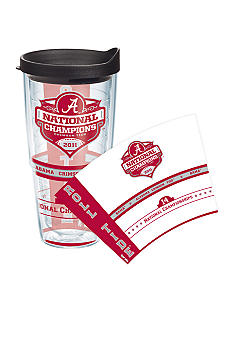 Tervis Tumbler Alabama Crimson Tide 2011 BCS National Champions 24oz Wrap Tumbler