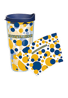 Tervis Tumbler West Virginia Mountaineers 24 oz Dot Wrap Tumbler