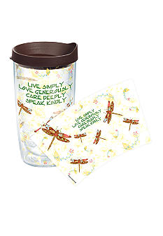 Tervis Tumbler Inspirational Dragonfly Wrap 16-oz. Tumbler with Travel Lid