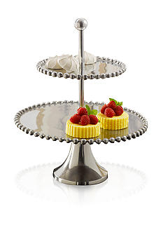 Biltmore For Your Home Big Bead 2 Tiered Server