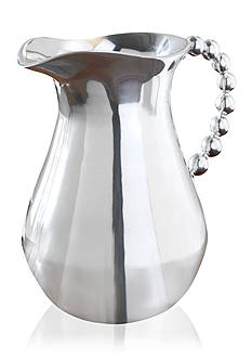 Biltmore Big Bead Silver Pitcher