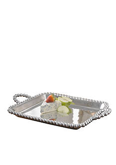 Biltmore Big Bead Handle Serving Tray