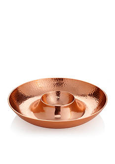 Biltmore Hammered Copper Chip & Dip