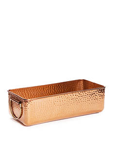 Biltmore Hammered Copper Beverage Tub