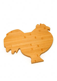 Cooks Tools™ Rooster - Bamboo Cutting Board