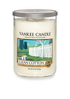 Yankee Candle Clean Cotton 2 Wick Large Tumbler