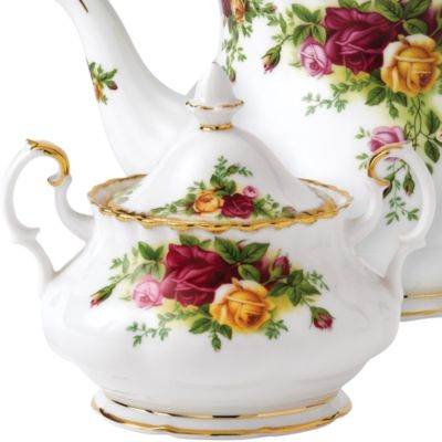 Gold China: Multi. Royal Albert OCR 3PC TEASET