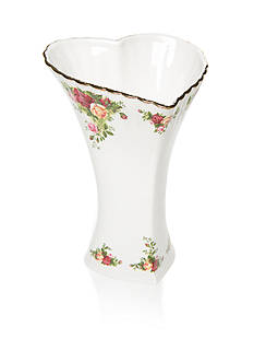 Royal Albert Old Country Rose Heart Vase