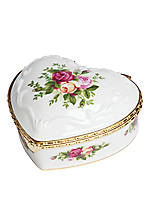 Old Country Roses Muscial Jewerly Box