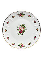 Old Country Roses Round Platter