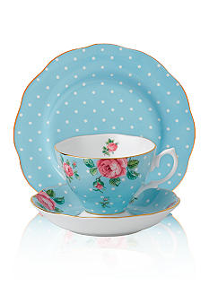 Royal Albert New Country Rose Vintage Polka Blue