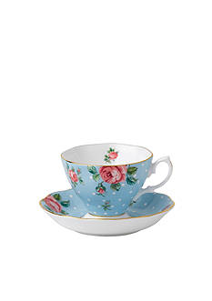 Royal Albert VTGNCRPKABL TCUP&SCR
