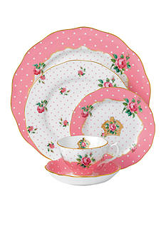 Royal Albert CHKY PINK 5 PPS