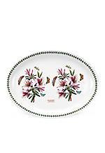 """Botanic Garden Azalea Turkey Platter- 20"""""""