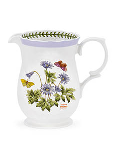 Portmeirion Botanic Garden Terrace 2.75-pt. Scalloped Edge Pitcher Windflower