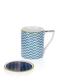 Portmeirion Malton Mug & Coaster Set