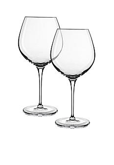 Luigi Bormioli Set of 2 Smooth Red Wines