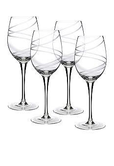 Luigi Bormioli Set of 4 Aspen All Purpose Wine Glasses