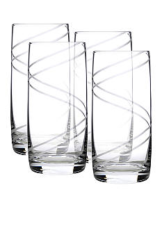 Luigi Bormioli Set of 4 Aspen Beverage Glasses