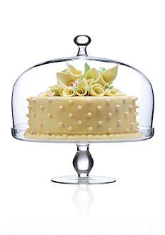 Luigi Bormioli Michelangelo Footed Cake Plate