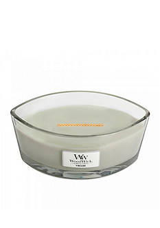 WoodWick HearthWick Flame® Candle - Fireside Ellipse