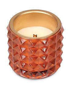 WoodWick Pumpkin Butter Studded Glass Candle