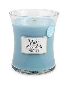 WoodWick 10-oz. Cool Linen Jar