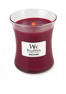 WoodWick Medium Candle - Black Cherry